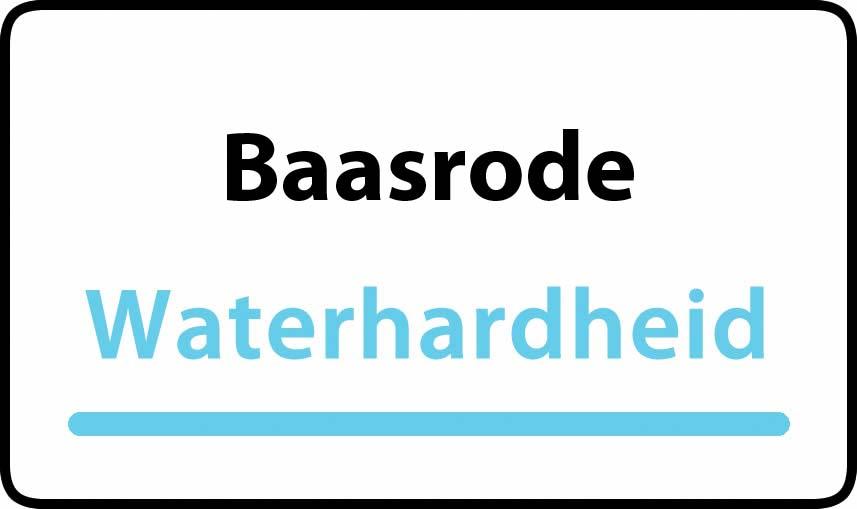 waterhardheid in Baasrode is middel hard water 22 °F Franse graden