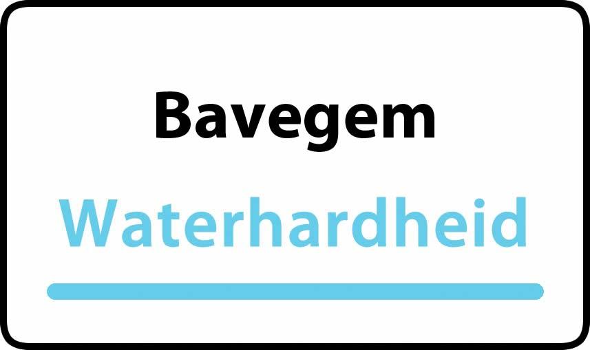 waterhardheid in Bavegem is middel hard water 23 °F Franse graden