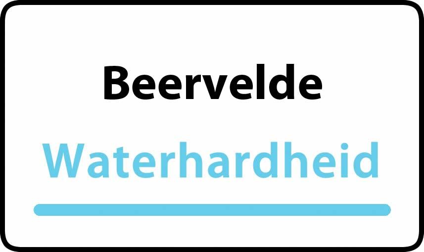 waterhardheid in Beervelde is middel hard water 22 °F Franse graden