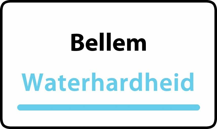 waterhardheid in Bellem is hard water 39 °F Franse graden