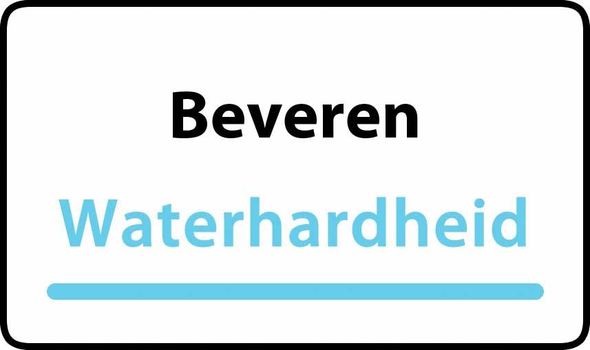 waterhardheid in Beveren is hard water 41 °F Franse graden