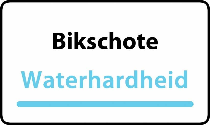 waterhardheid in Bikschote is hard water 43 °F Franse graden