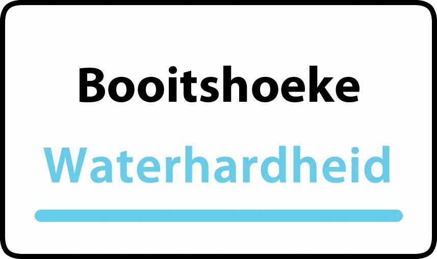 waterhardheid in Booitshoeke is hard water 40 °F Franse graden