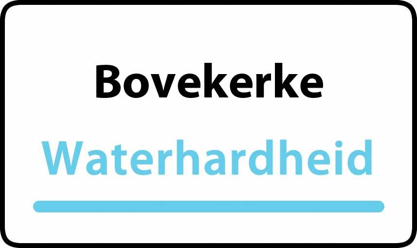 waterhardheid in Bovekerke is hard water 32 °F Franse graden
