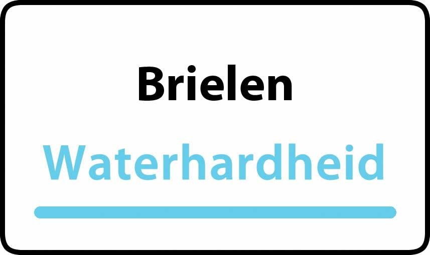 waterhardheid in Brielen is zeer hard water 45 °F Franse graden