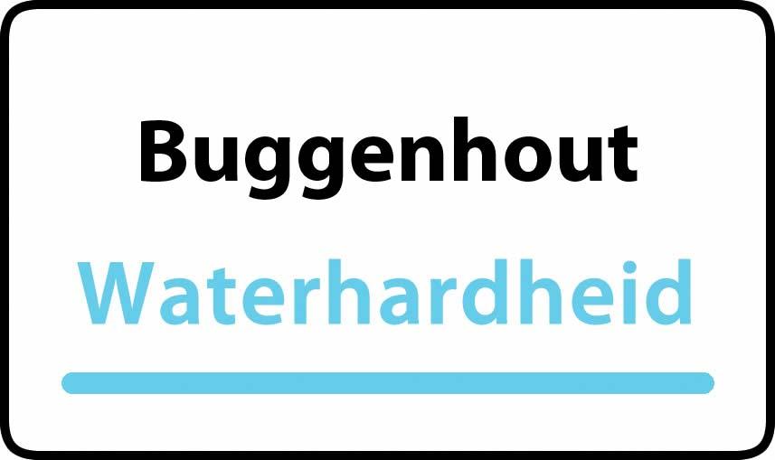 waterhardheid in Buggenhout is middel hard water 22 °F Franse graden