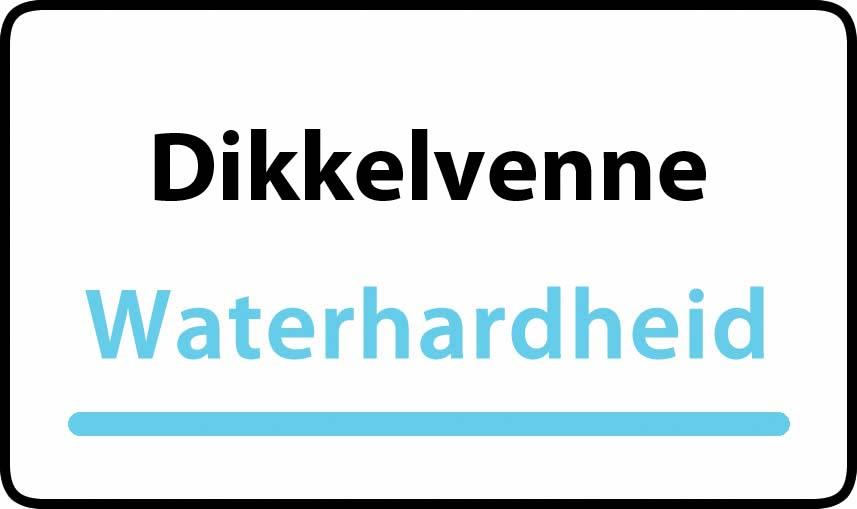 waterhardheid in Dikkelvenne is hard water 39 °F Franse graden