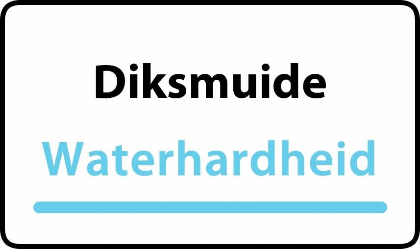 waterhardheid in Diksmuide is middel hard water 27 °F Franse graden