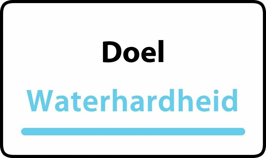 waterhardheid in Doel is hard water 31 °F Franse graden