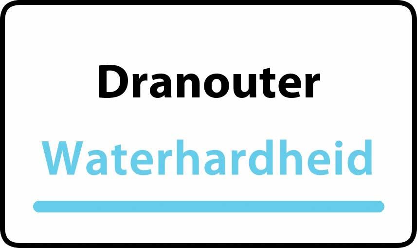 waterhardheid in Dranouter is zeer hard water 45 °F Franse graden