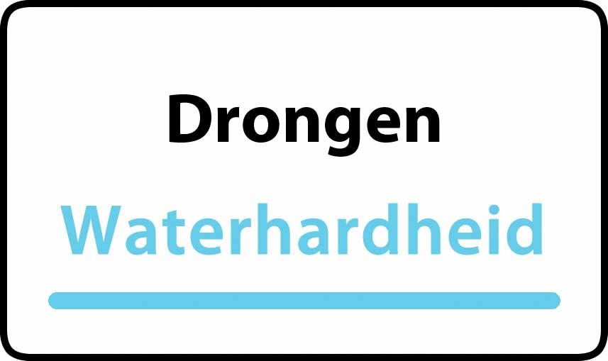 waterhardheid in Drongen is hard water 39 °F Franse graden