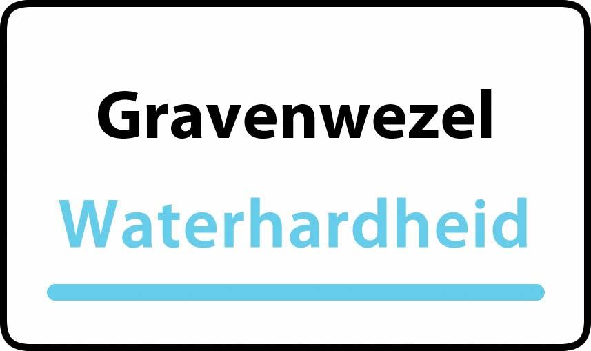 waterhardheid in Gravenwezel is middel hard water 17 °F Franse graden