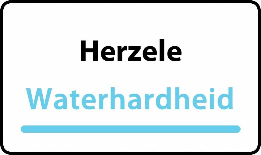 waterhardheid in Herzele is middel hard water 23 °F Franse graden
