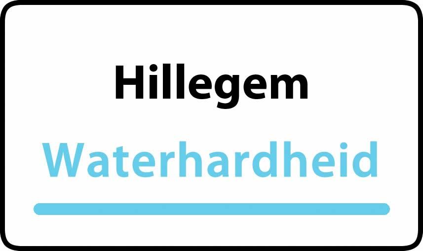 waterhardheid in Hillegem is middel hard water 23 °F Franse graden