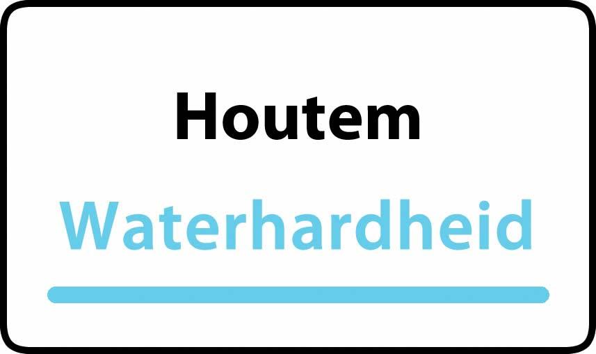 waterhardheid in Houtem is hard water 40 °F Franse graden