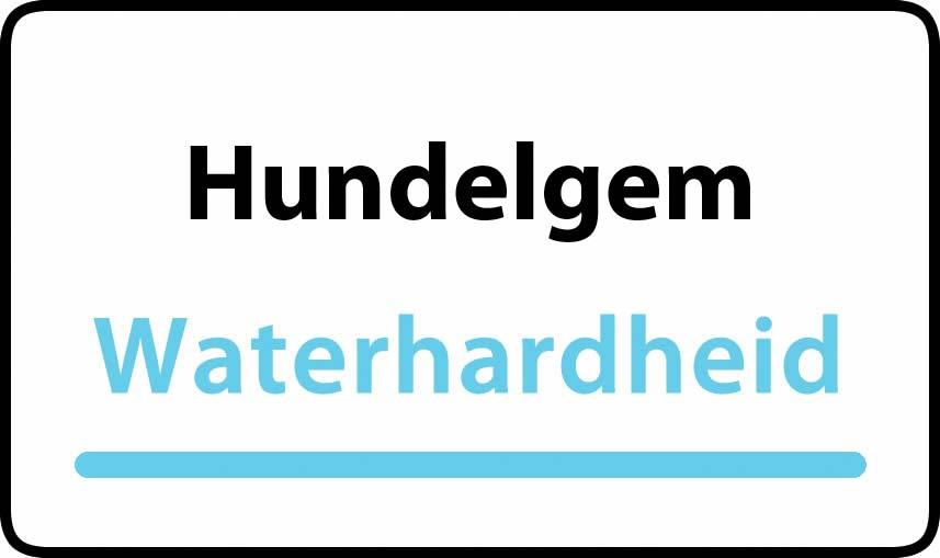 waterhardheid in Hundelgem is hard water 39 °F Franse graden