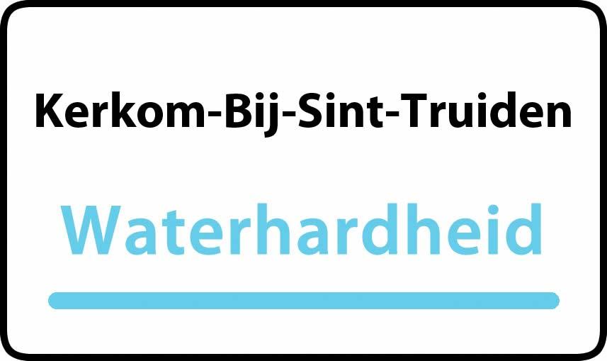 waterhardheid in Kerkom-Bij-Sint-Truiden is hard water 38 °F Franse graden