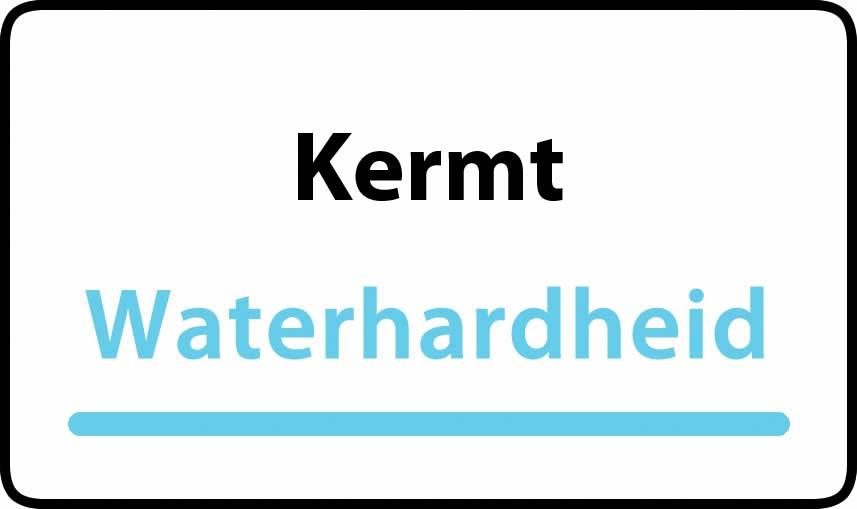 waterhardheid in Kermt is middel hard water 22 °F Franse graden