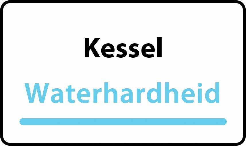 waterhardheid in Kessel is middel hard water 18 °F Franse graden