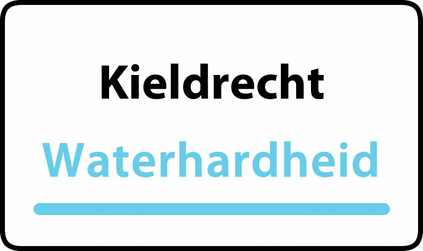 waterhardheid in Kieldrecht is hard water 31 °F Franse graden