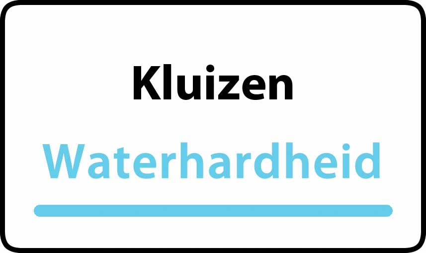 waterhardheid in Kluizen is hard water 34 °F Franse graden
