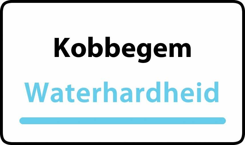 waterhardheid in Kobbegem is hard water 30 °F Franse graden