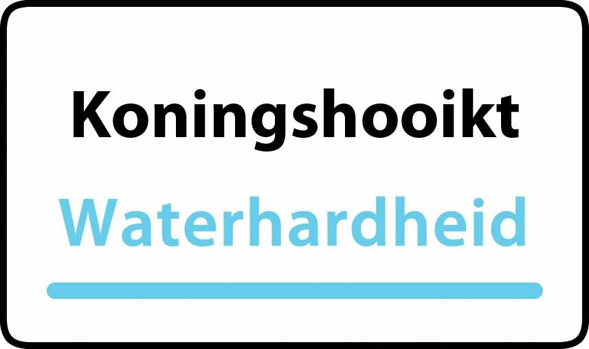 waterhardheid in Koningshooikt is middel hard water 18 °F Franse graden