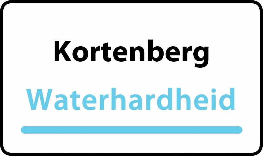 waterhardheid in Kortenberg is hard water 39 °F Franse graden