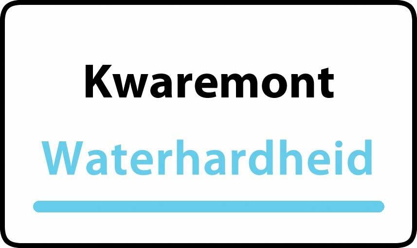 waterhardheid in Kwaremont is hard water 39 °F Franse graden