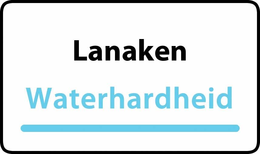 waterhardheid in Lanaken is middel hard water 22 °F Franse graden