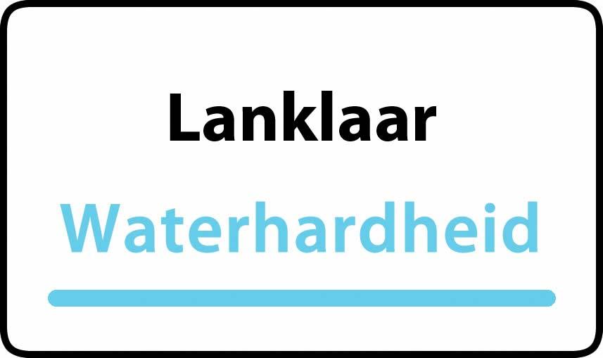 waterhardheid in Lanklaar is middel hard water 22 °F Franse graden