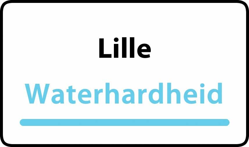 waterhardheid in Lille is middel hard water 18 °F Franse graden