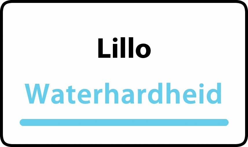 waterhardheid in Lillo is middel hard water 18 °F Franse graden
