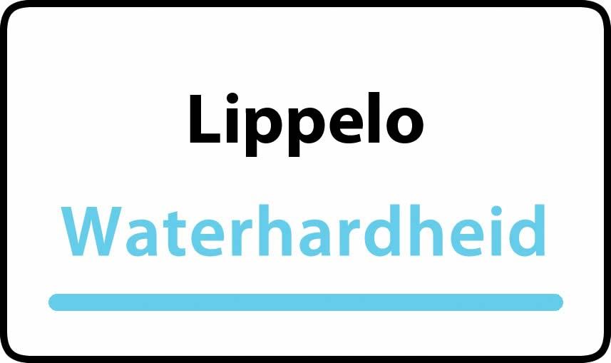 waterhardheid in Lippelo is middel hard water 18 °F Franse graden