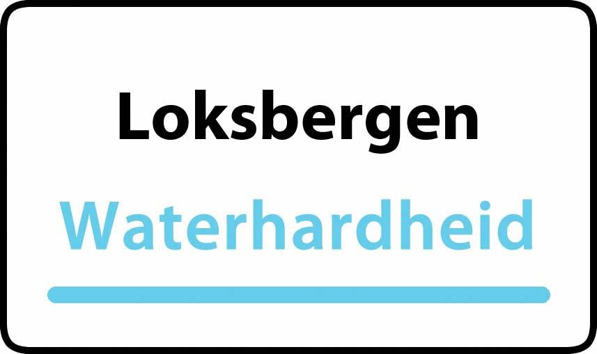 waterhardheid in Loksbergen is hard water 34 °F Franse graden