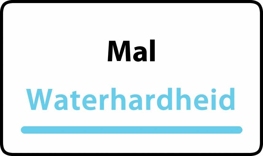 waterhardheid in Mal is hard water 37 °F Franse graden