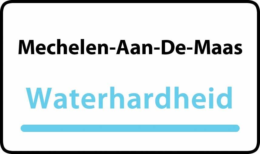 waterhardheid in Mechelen-Aan-De-Maas is middel hard water 22 °F Franse graden
