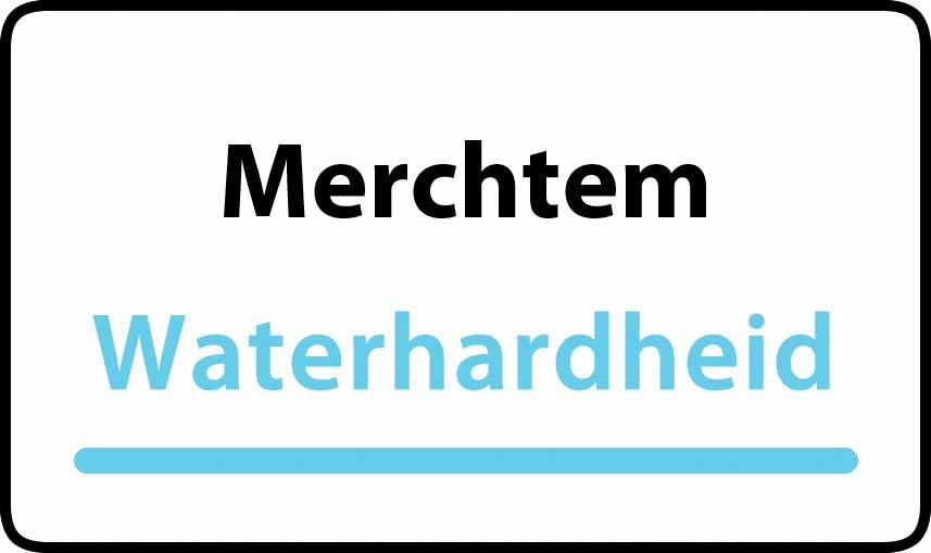 waterhardheid in Merchtem is hard water 41 °F Franse graden