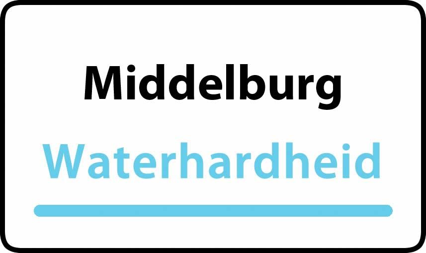 waterhardheid in Middelburg is middel hard water 17 °F Franse graden
