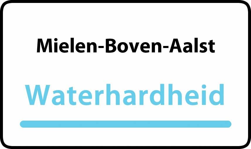 waterhardheid in Mielen-Boven-Aalst is middel hard water 18 °F Franse graden