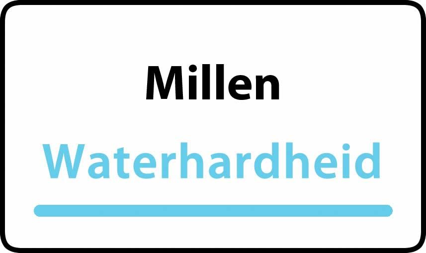 waterhardheid in Millen is hard water 37 °F Franse graden