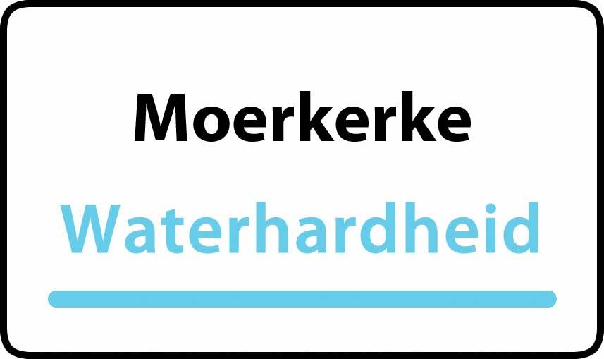 waterhardheid in Moerkerke is hard water 32 °F Franse graden