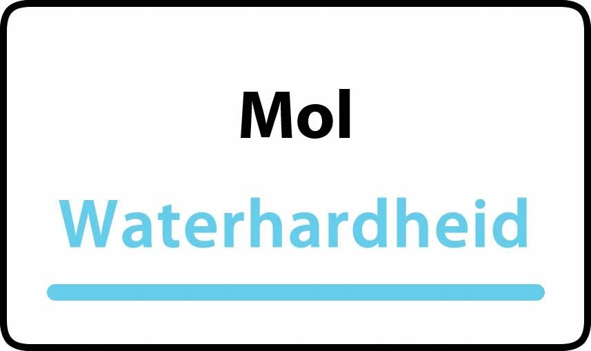 waterhardheid in Mol is zacht water 6 °F Franse graden