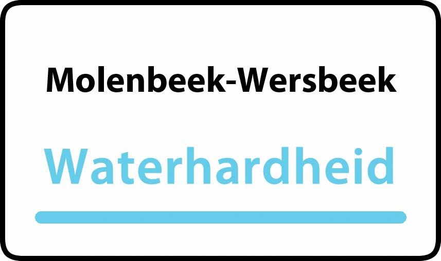waterhardheid in Molenbeek-Wersbeek is middel hard water 18 °F Franse graden