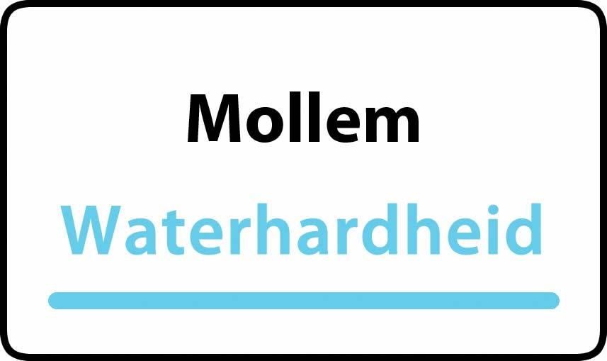 waterhardheid in Mollem is hard water 30 °F Franse graden