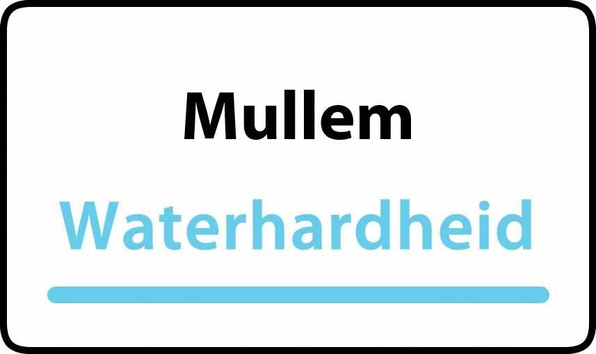 waterhardheid in Mullem is hard water 40 °F Franse graden