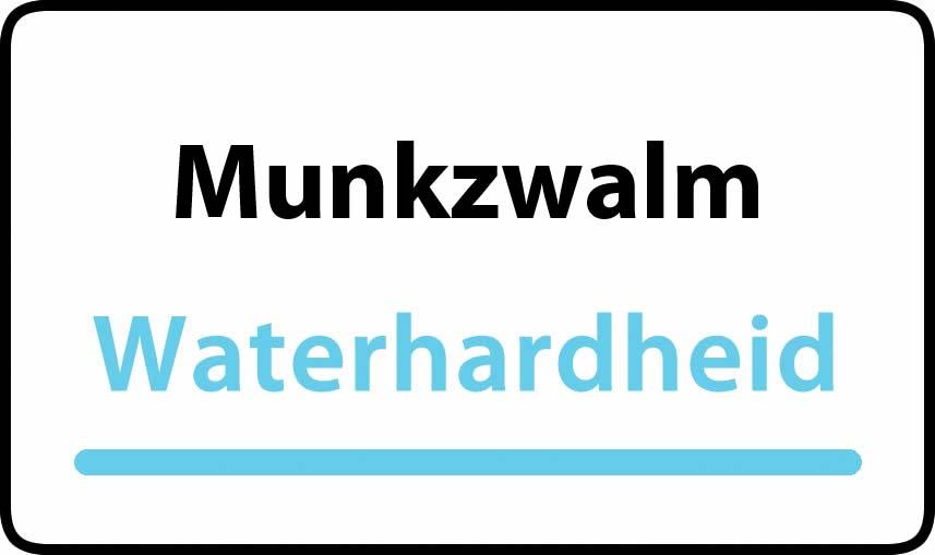 waterhardheid in Munkzwalm is hard water 39 °F Franse graden