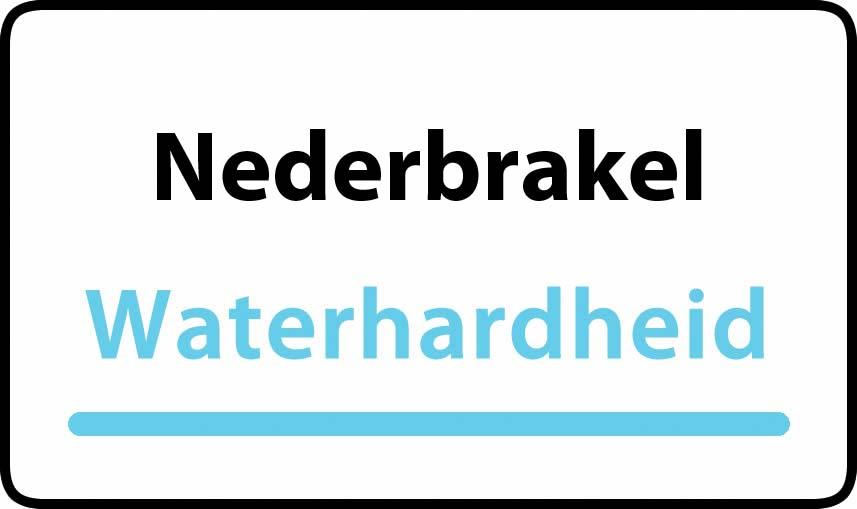 waterhardheid in Nederbrakel is hard water 39 °F Franse graden