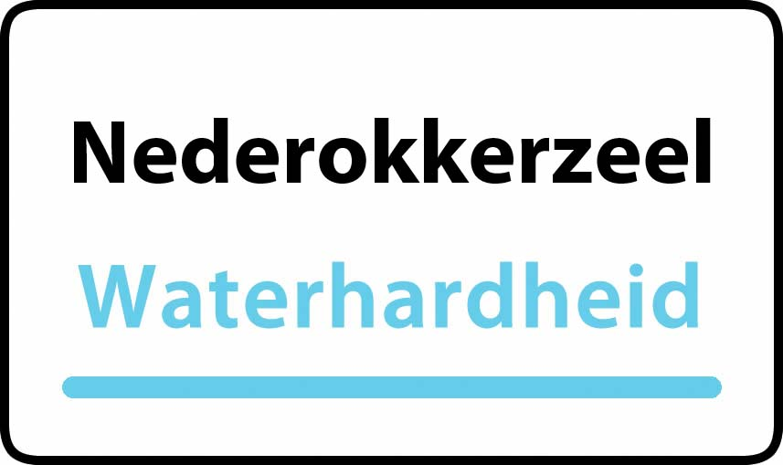 waterhardheid in Nederokkerzeel is hard water 38 °F Franse graden