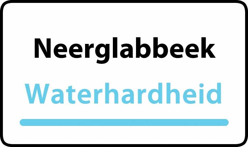 waterhardheid in Neerglabbeek is middel hard water 18 °F Franse graden